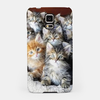 Miniatur Cat Kittys Best Photo New Design Women Men Girls Gift Samsung Case, Live Heroes