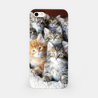 Miniatur Cat Kittys Best Photo New Design Women Men Girls Gift iPhone Case, Live Heroes