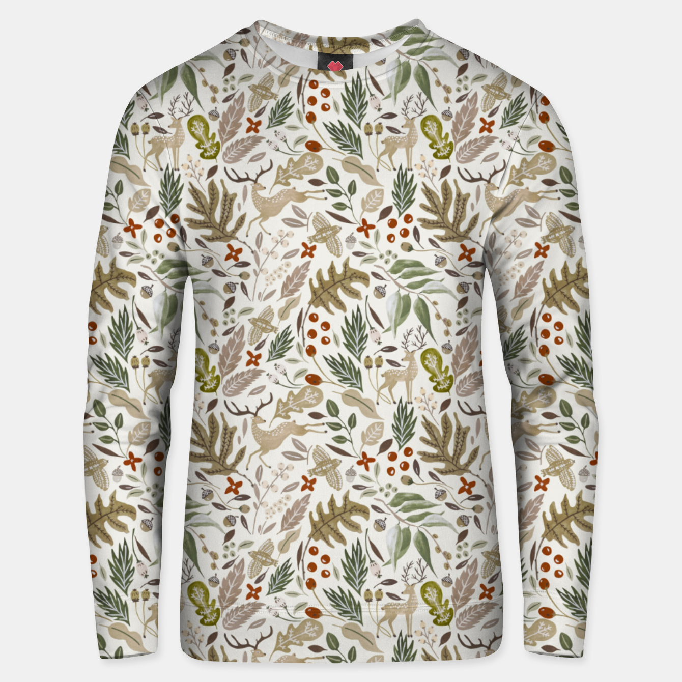 Image of Christmas in the wild nature Sudadera unisex - Live Heroes