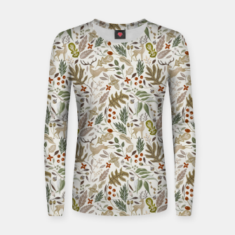 Thumbnail image of Christmas in the wild nature Sudadera para mujeres, Live Heroes