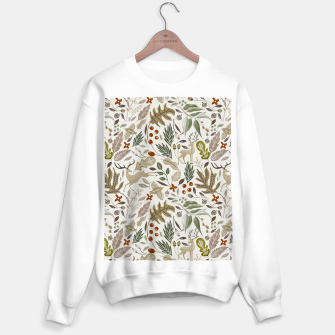 Thumbnail image of Christmas in the wild nature Sudadera regular, Live Heroes