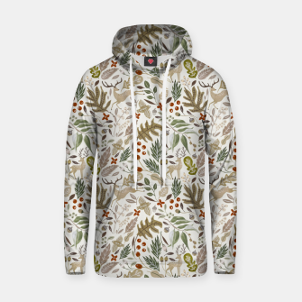 Thumbnail image of Christmas in the wild nature Sudadera con capucha, Live Heroes