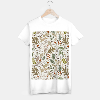 Thumbnail image of Christmas in the wild nature Camiseta Regular, Live Heroes
