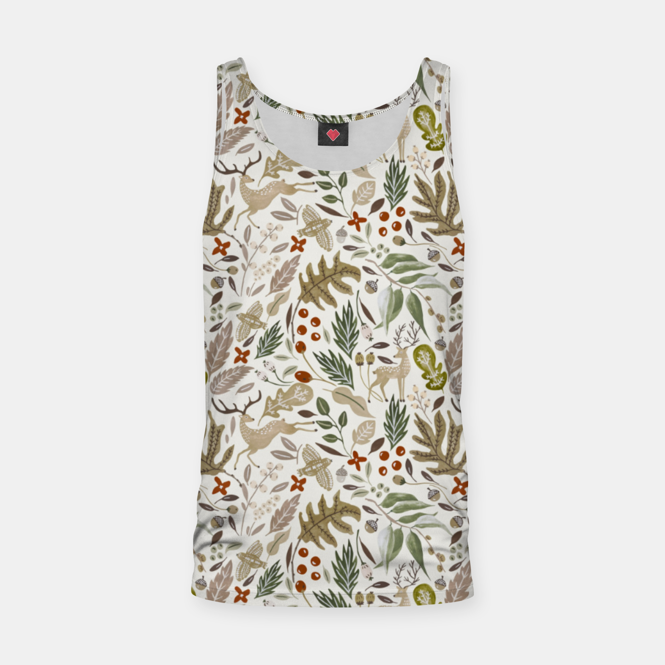 Image of Christmas in the wild nature Camiseta de tirantes - Live Heroes
