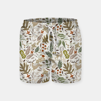 Thumbnail image of Christmas in the wild nature Pantalones de baño, Live Heroes