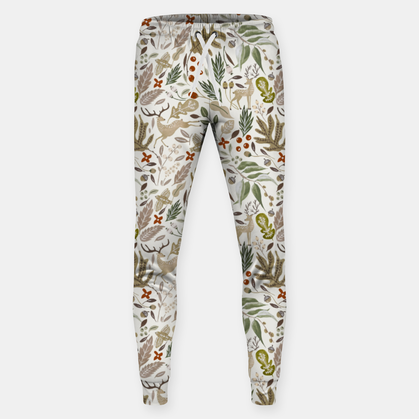 Image of Christmas in the wild nature Pantalones de chándal  - Live Heroes
