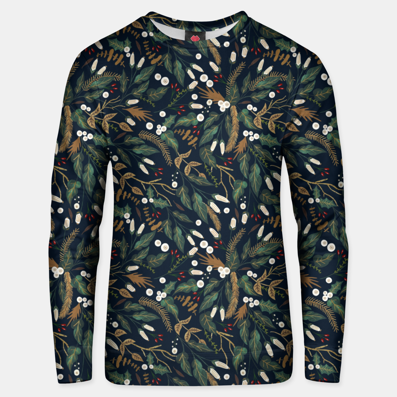 Foto Winter night garden Sudadera unisex - Live Heroes