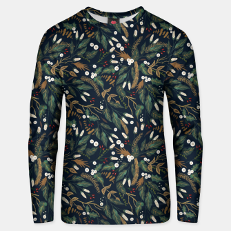 Winter night garden Sudadera unisex thumbnail image