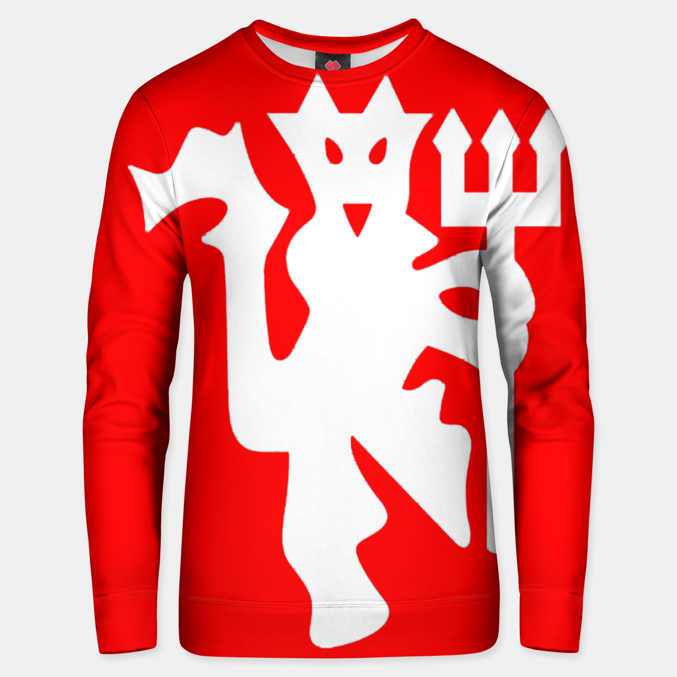 Image of Manchester United Football Club Red Devil Fans Unisex sweater - Live Heroes