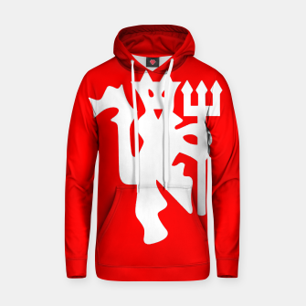 Thumbnail image of Manchester United Football Club Red Devil Fans Hoodie, Live Heroes