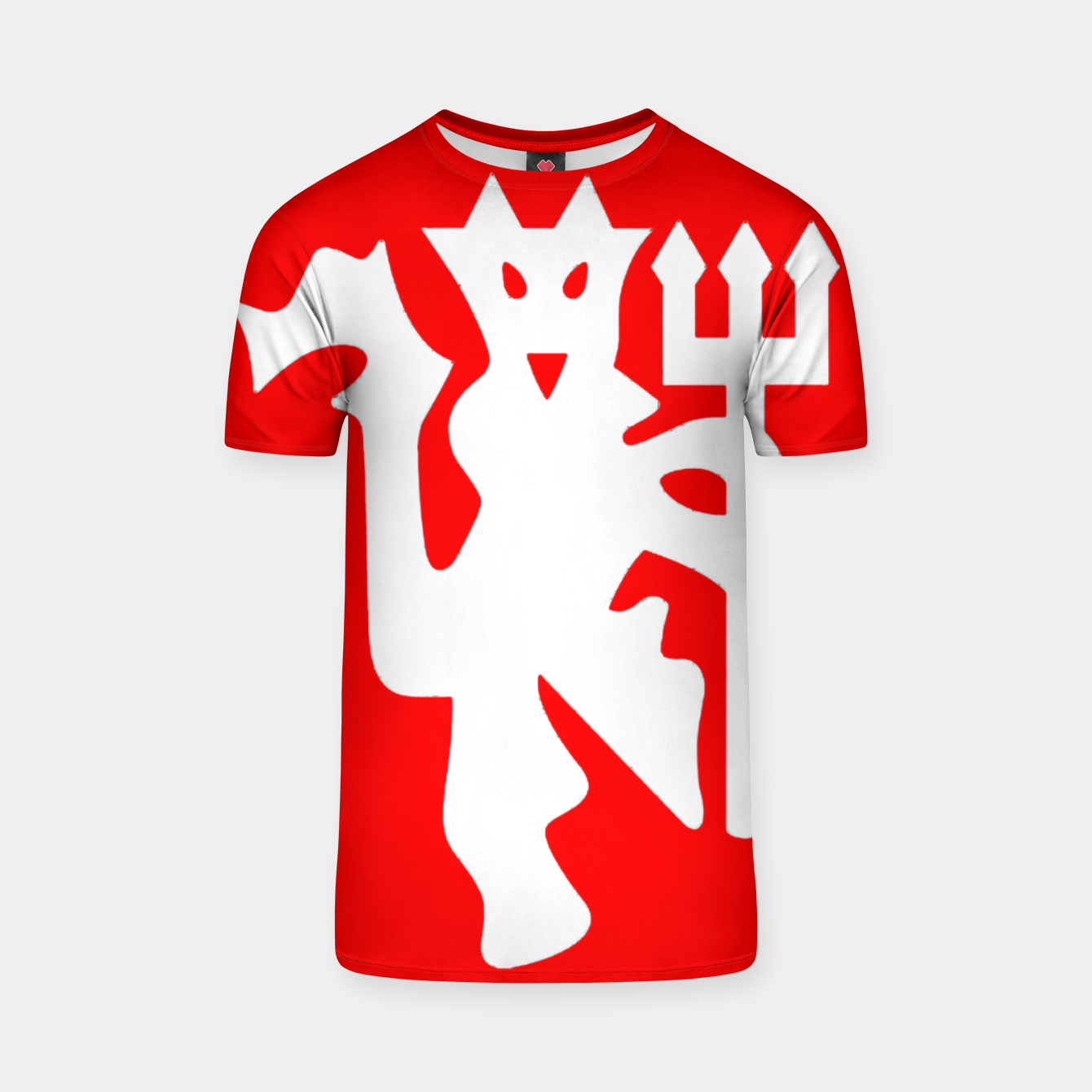 Image of Manchester United Football Club Red Devil Fans T-shirt - Live Heroes