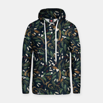 Thumbnail image of Winter night garden Sudadera con capucha, Live Heroes