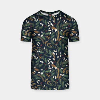 Thumbnail image of Winter night garden Camiseta, Live Heroes