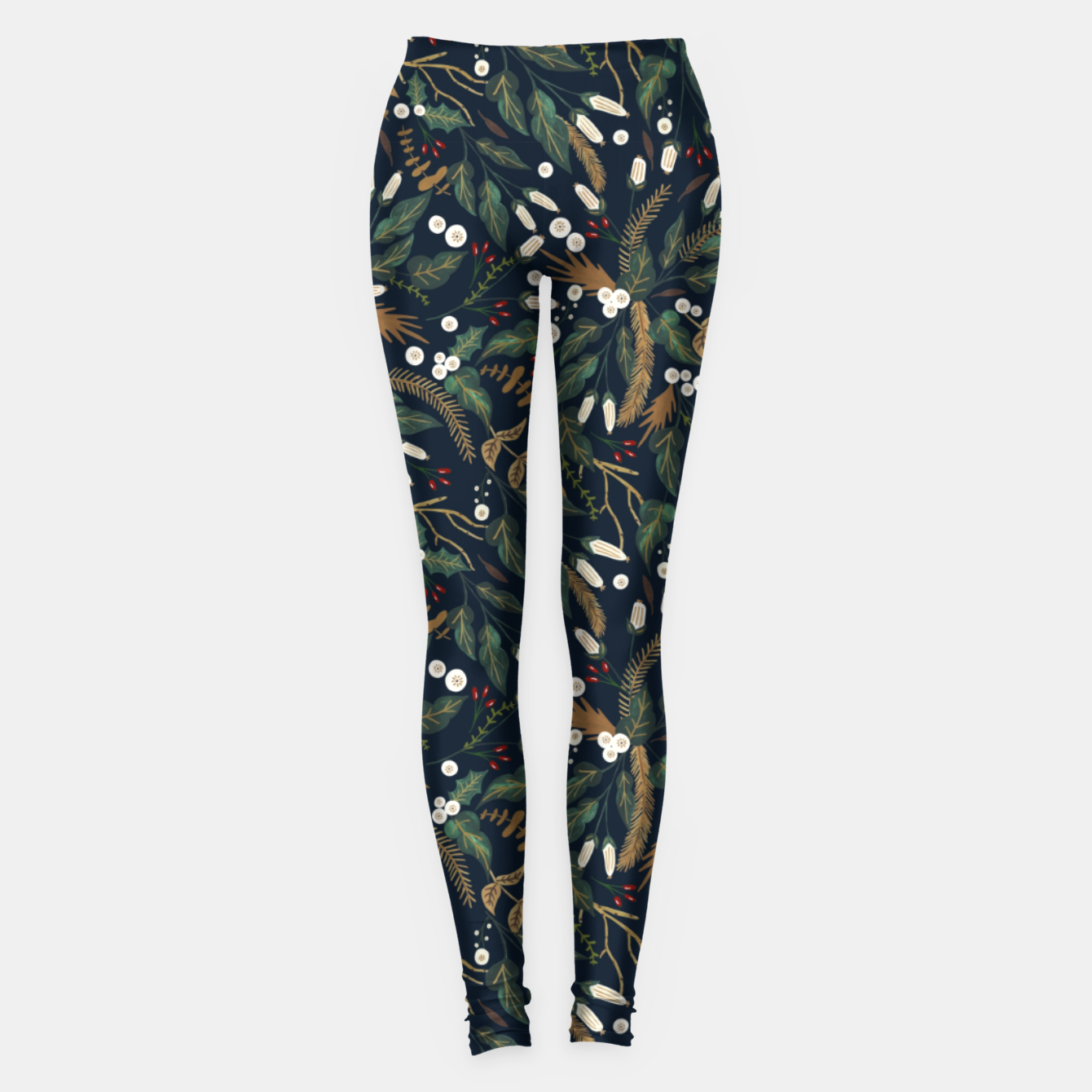 Image of Winter night garden Leggings - Live Heroes