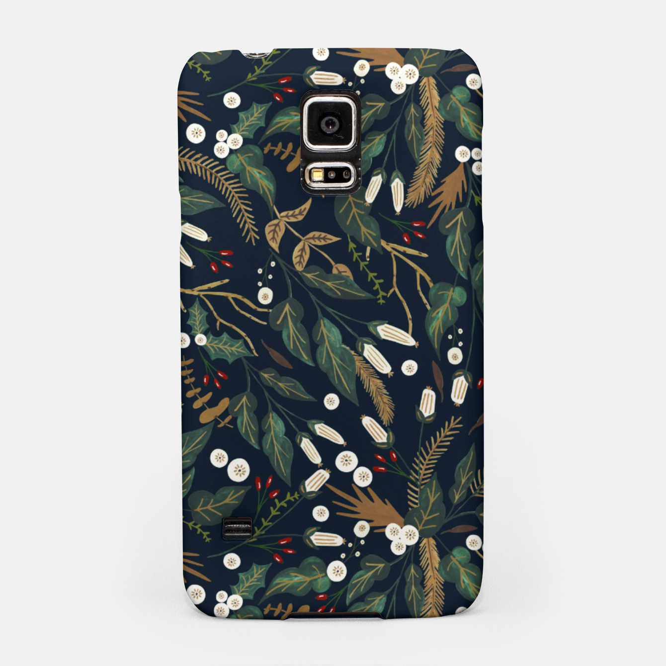 Image of Winter night garden Carcasa por Samsung - Live Heroes