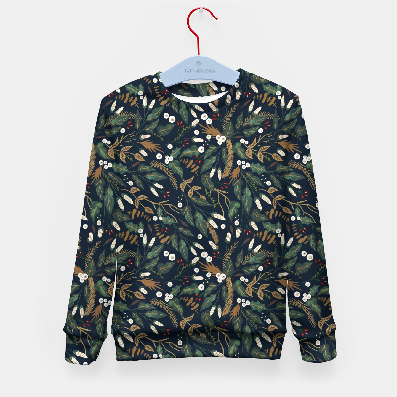 Image of Winter night garden Sudadera para niños - Live Heroes