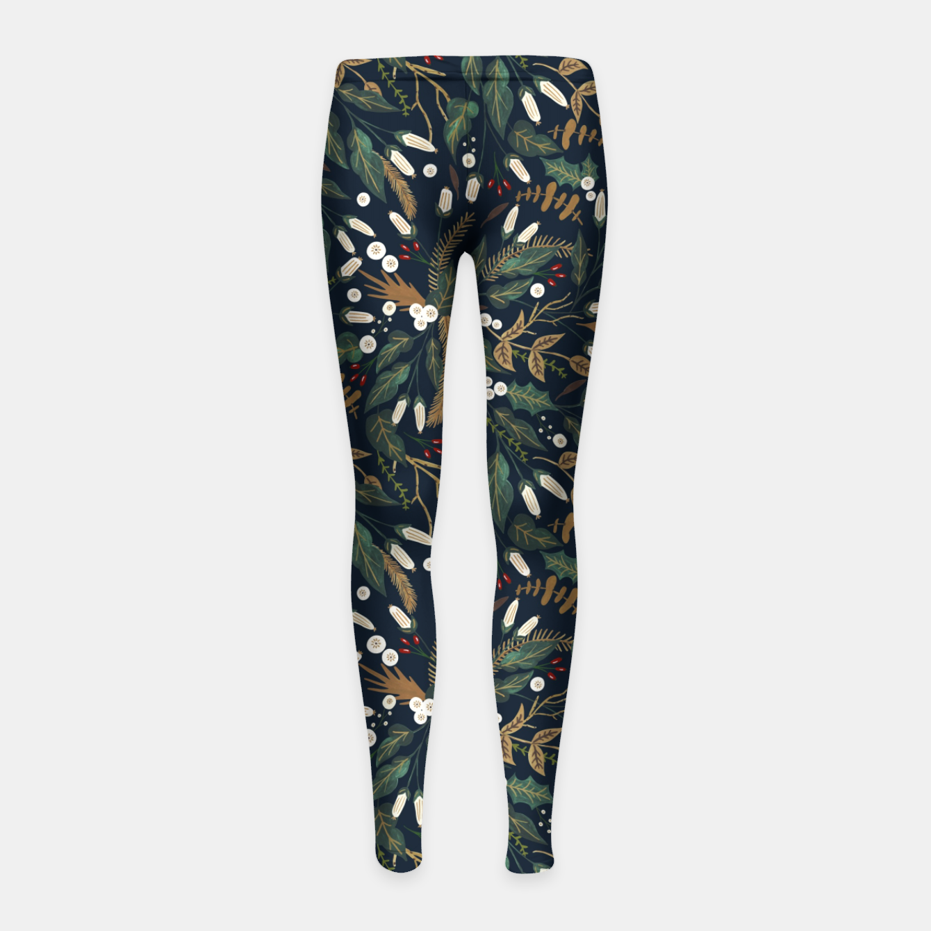 Image of Winter night garden Leggings para niña - Live Heroes