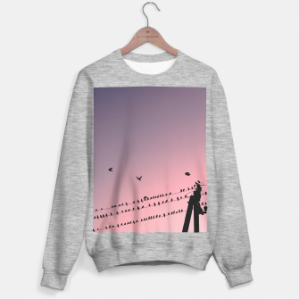 Time to fly Sweater regular Bild der Miniatur