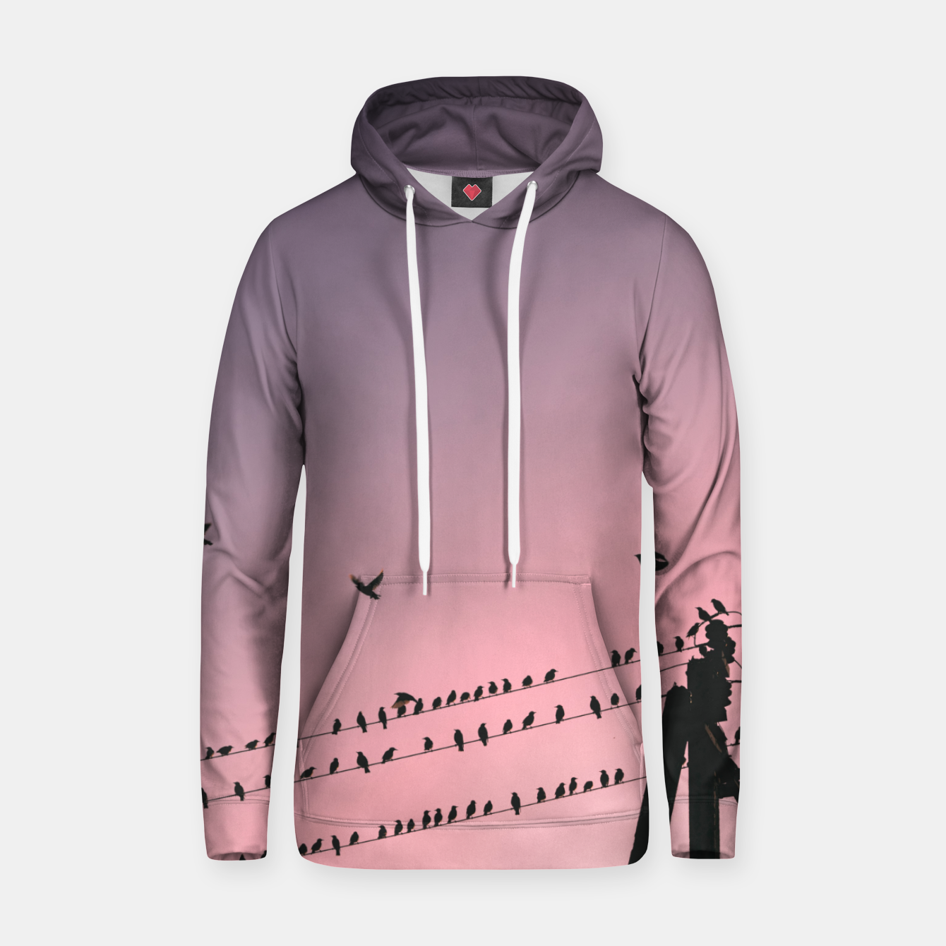Image of Time to fly Hoodie - Live Heroes