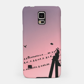 Time to fly Samsung Case Bild der Miniatur