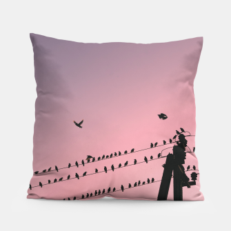 Thumbnail image of Time to fly Pillow, Live Heroes