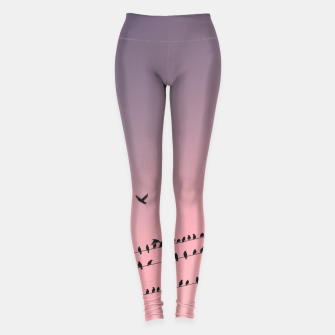 Thumbnail image of Time to fly Leggings, Live Heroes
