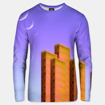 Thumbnail image of Triple Charm Unisex sweater, Live Heroes