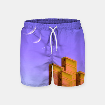 Thumbnail image of Triple Charm Swim Shorts, Live Heroes