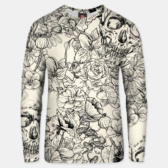 Thumbnail image of SKULLS 5 Unisex sweater, Live Heroes