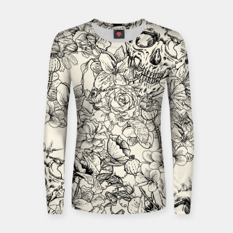 Thumbnail image of SKULLS 5 Women sweater, Live Heroes