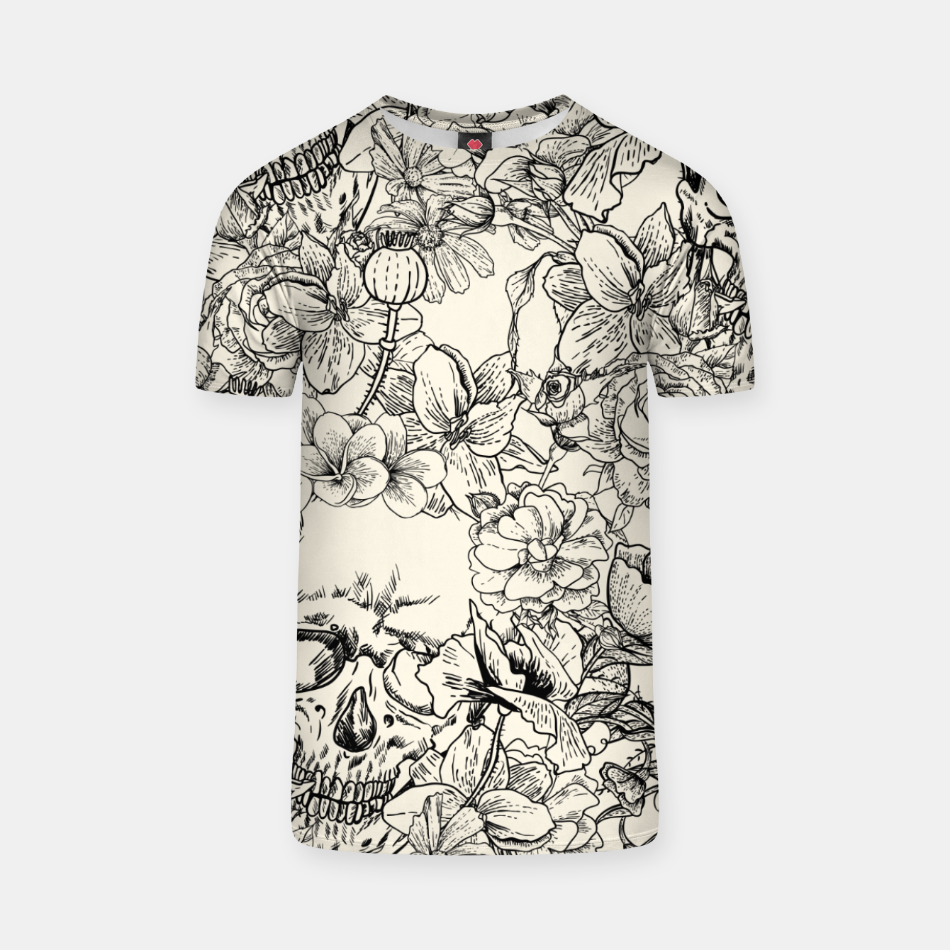 Image of SKULLS 5 T-shirt - Live Heroes