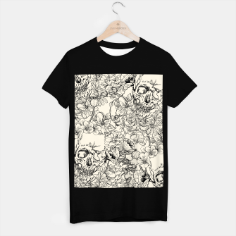 Thumbnail image of SKULLS 5 T-shirt regular, Live Heroes