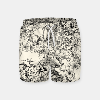 Thumbnail image of SKULLS 5 Swim Shorts, Live Heroes