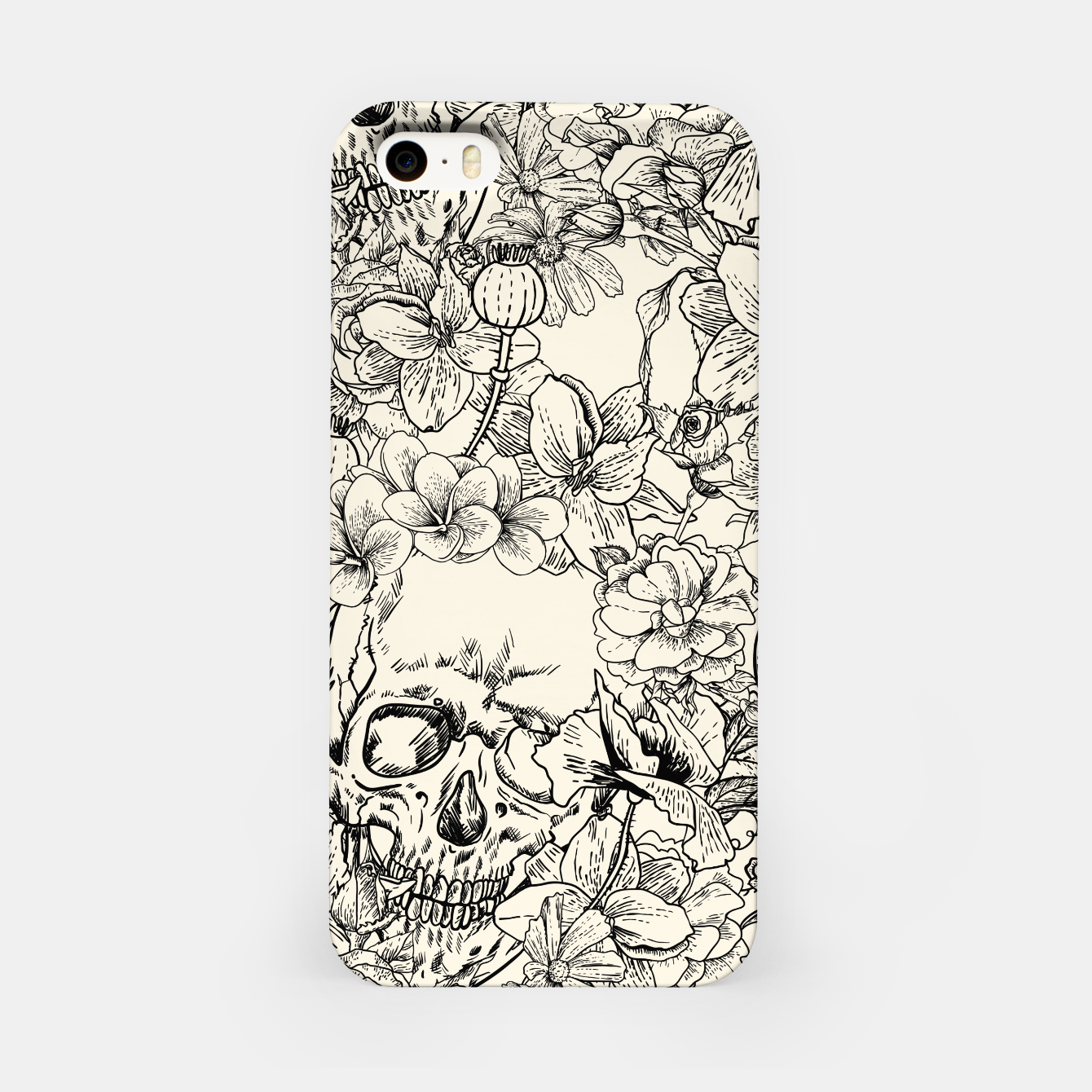 Image of SKULLS 5 iPhone Case - Live Heroes