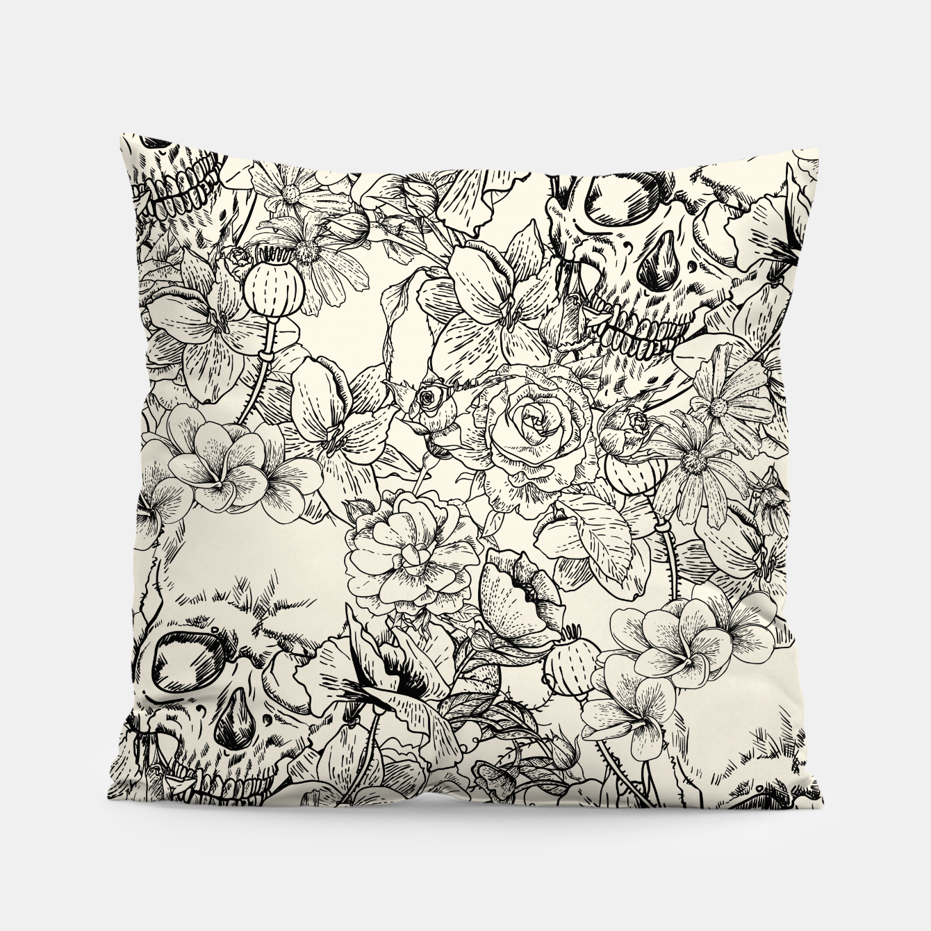 Image of SKULLS 5 Pillow - Live Heroes