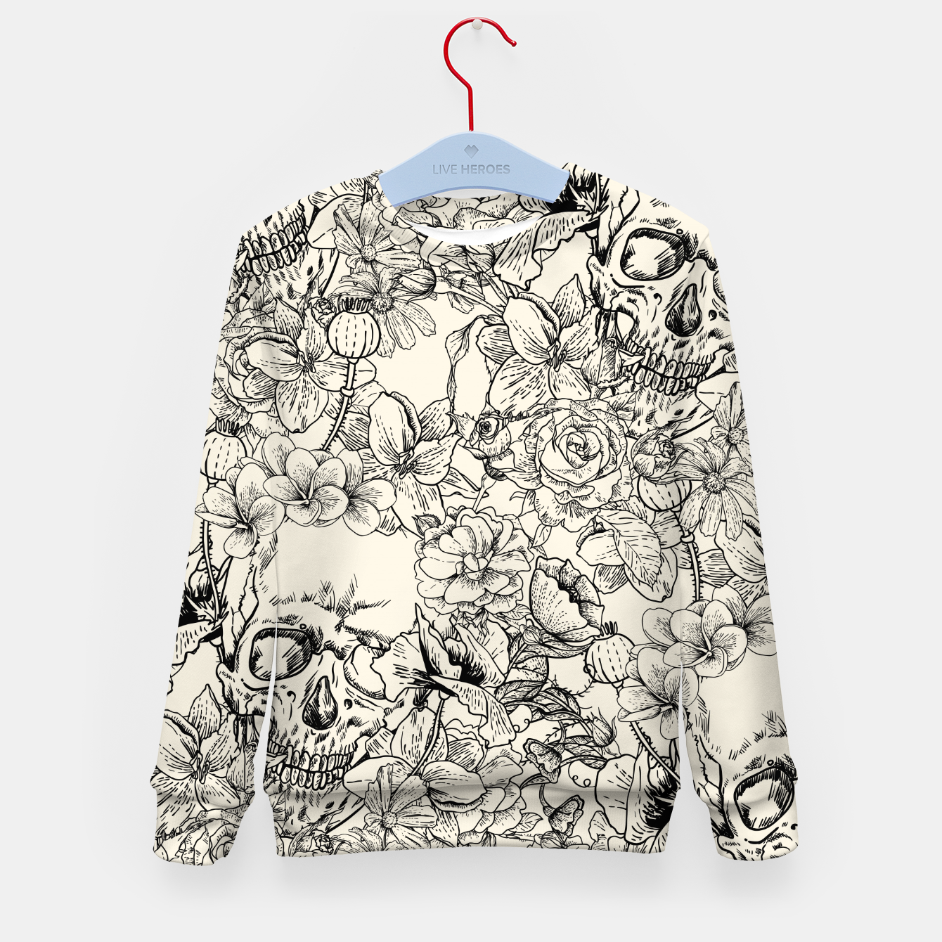 Image of SKULLS 5 Kid's sweater - Live Heroes