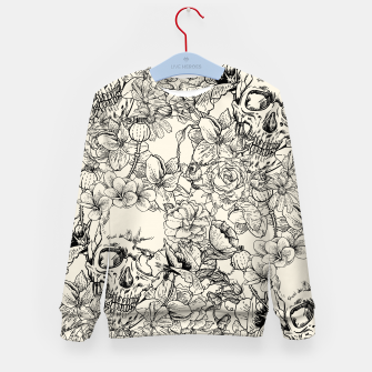 Thumbnail image of SKULLS 5 Kid's sweater, Live Heroes