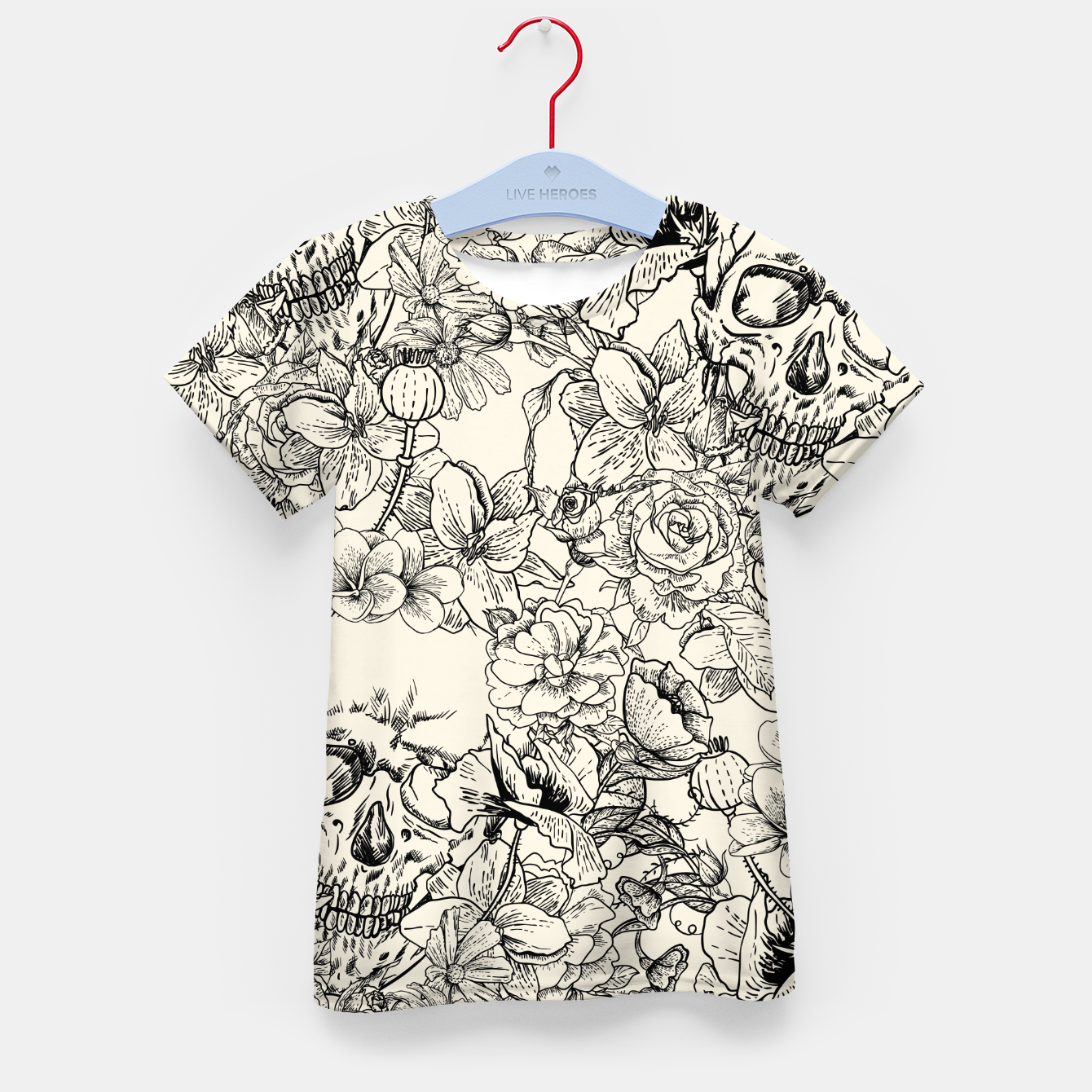 Image of SKULLS 5 Kid's t-shirt - Live Heroes