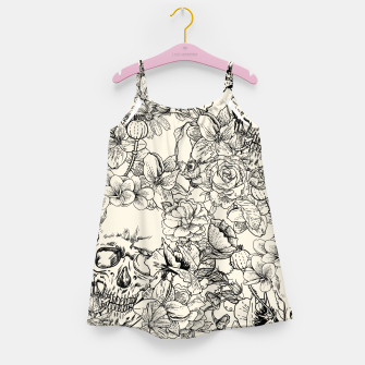 SKULLS 5 Girl's dress Bild der Miniatur