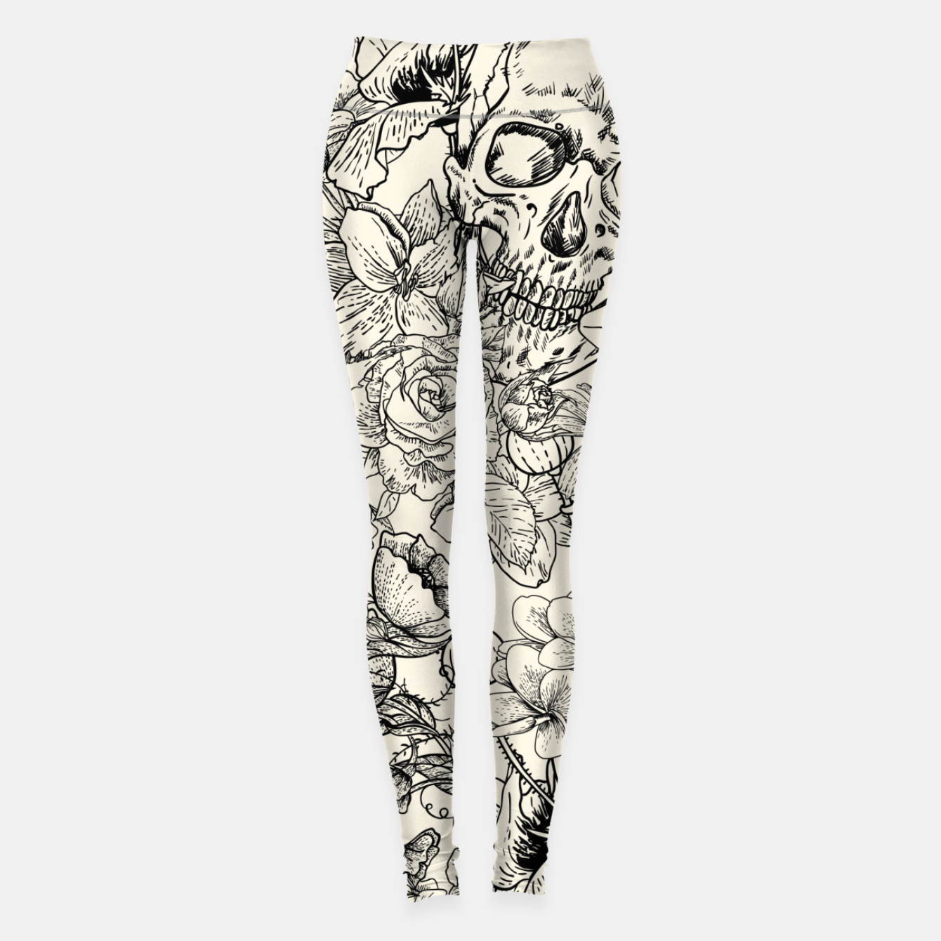 Image of SKULLS 5 Leggings - Live Heroes