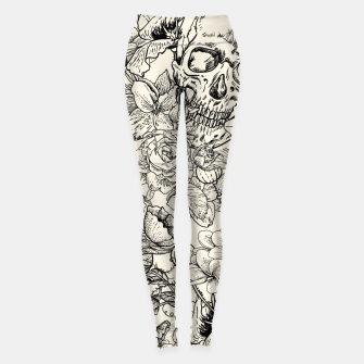 Thumbnail image of SKULLS 5 Leggings, Live Heroes