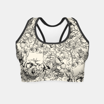 Thumbnail image of SKULLS 5 Crop Top, Live Heroes