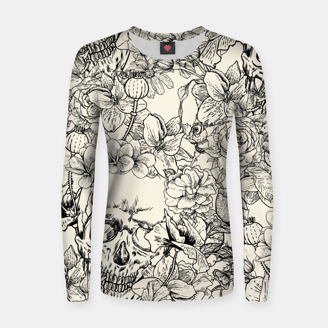 Image of SKULLS 5 Women sweater - Live Heroes