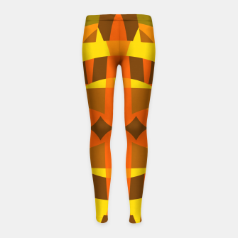 Thumbnail image of Abstract2 Girl's leggings, Live Heroes