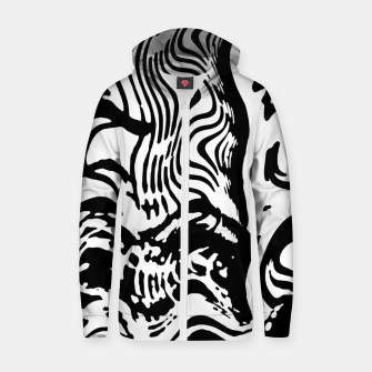 Waves Zip up hoodie thumbnail image