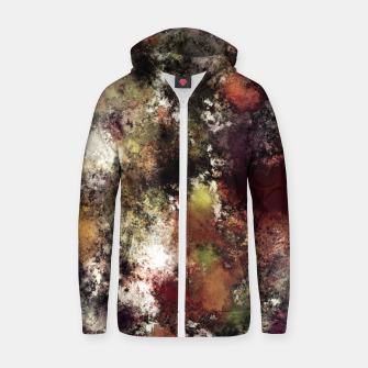 Escape from the elements Zip up hoodie thumbnail image