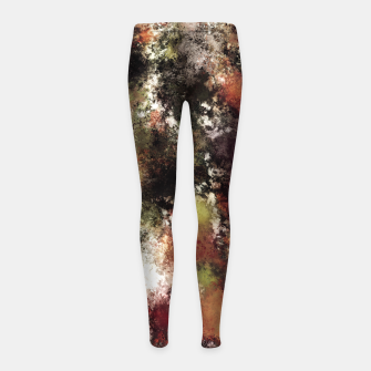 Escape from the elements Girl's leggings thumbnail image