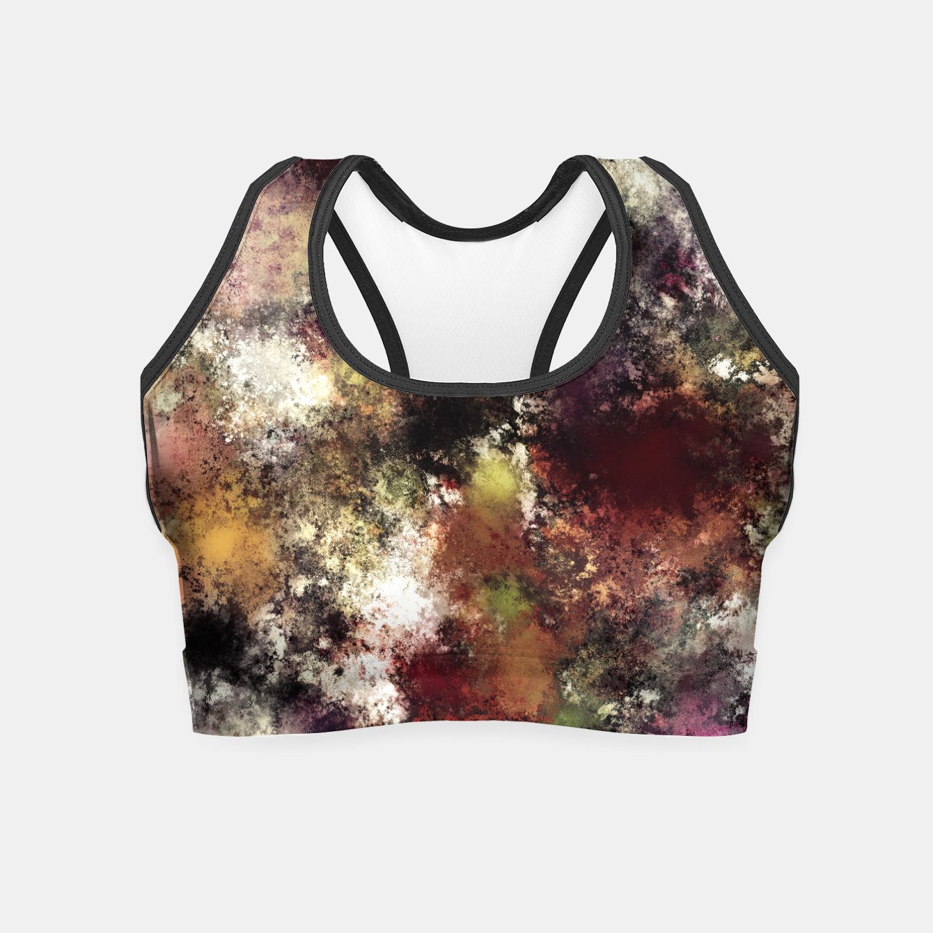 Image of Escape from the elements Crop Top - Live Heroes