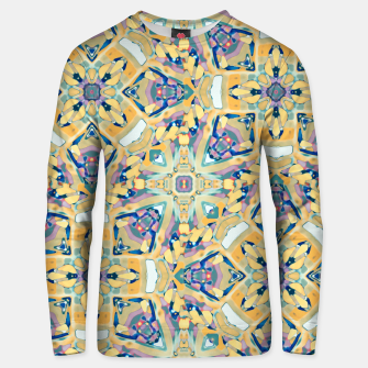 Miniature de image de Colorful Exotic Ornate Print Unisex sweater, Live Heroes