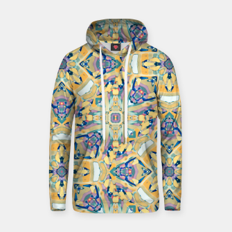 Miniature de image de Colorful Exotic Ornate Print Hoodie, Live Heroes